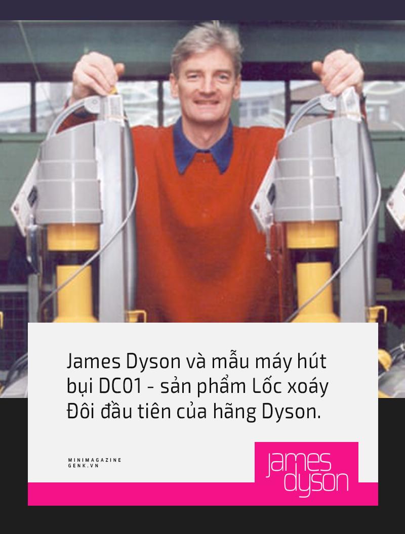 Những sự thật thú vị về Ngài James Dyson - vị kỹ sư, nhà thiết kế, nhà phát minh thiên tài sáng lập ra hãng điện máy Dyson vừa đặt chân tới Việt Nam - Ảnh 10.
