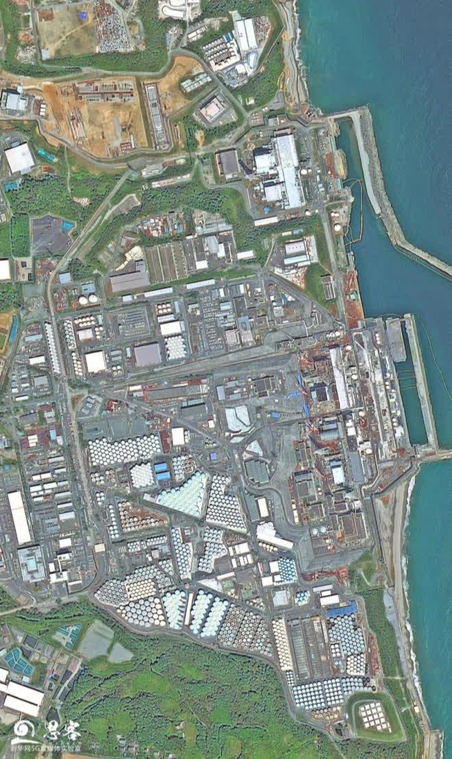 Phối cảnh vệ tinh cho thấy tác động việc xả nước thải hạt nhân ra biển của Nhật Bản sẽ đáng sợ tới mức nào - Ảnh 8.