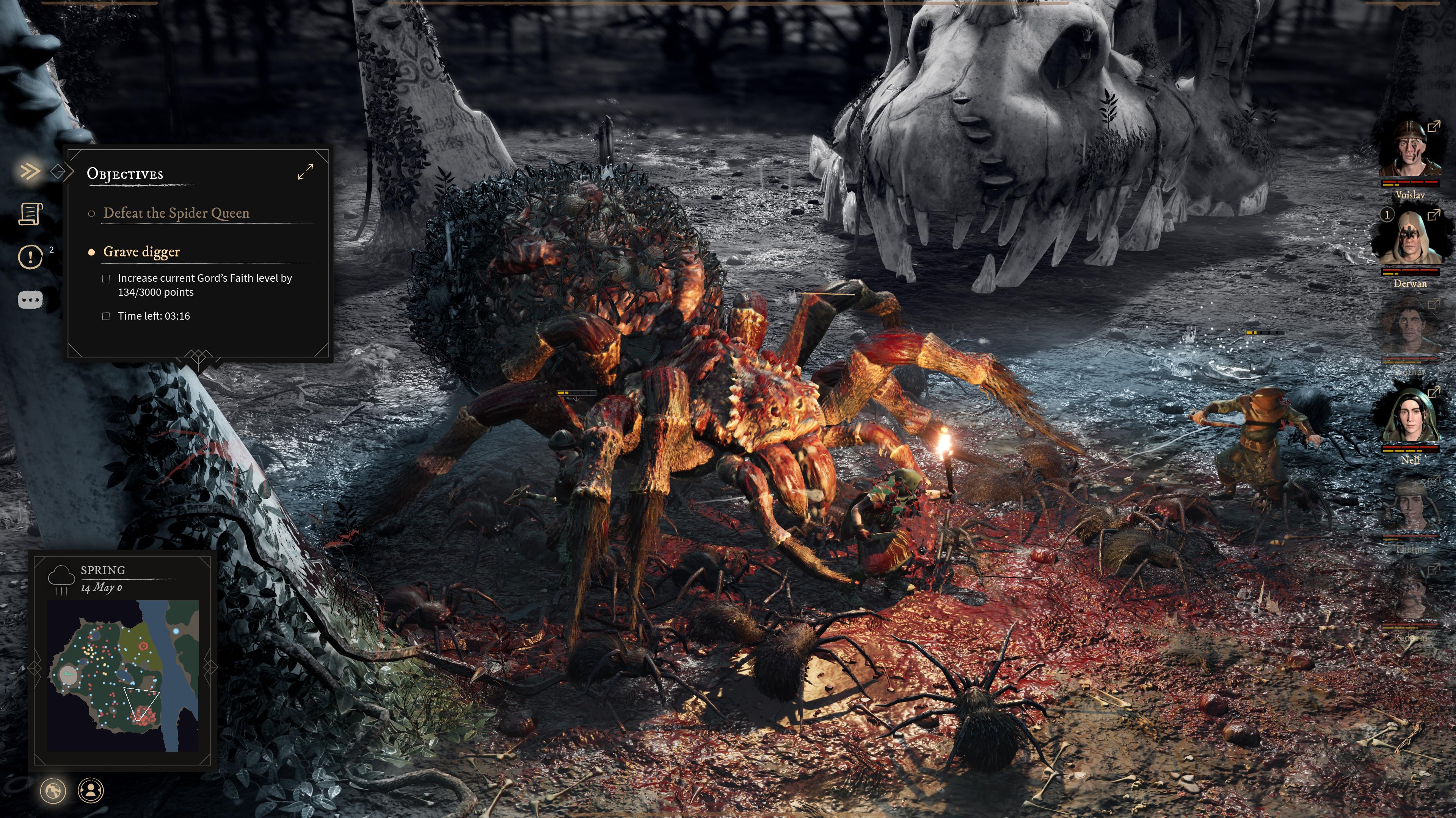 Game mới từ nhóm các nhà phát triển từng làm The Witcher 3: kết hợp phiêu lưu và quản lý thành phố, thế giới tăm tối chẳng khác gì quê Geralt - Ảnh 3.