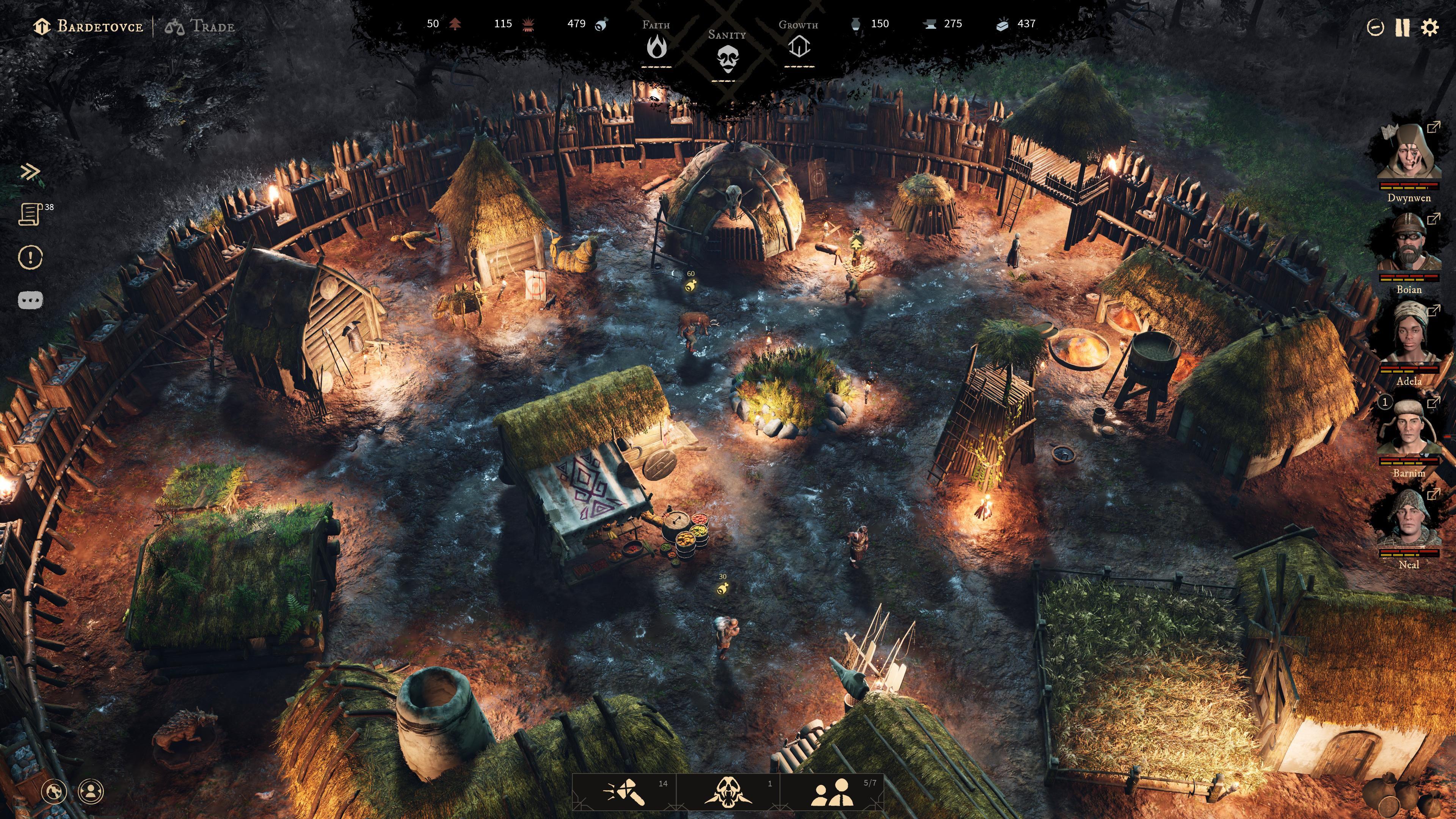 Game mới từ nhóm các nhà phát triển từng làm The Witcher 3: kết hợp phiêu lưu và quản lý thành phố, thế giới tăm tối chẳng khác gì quê Geralt - Ảnh 2.