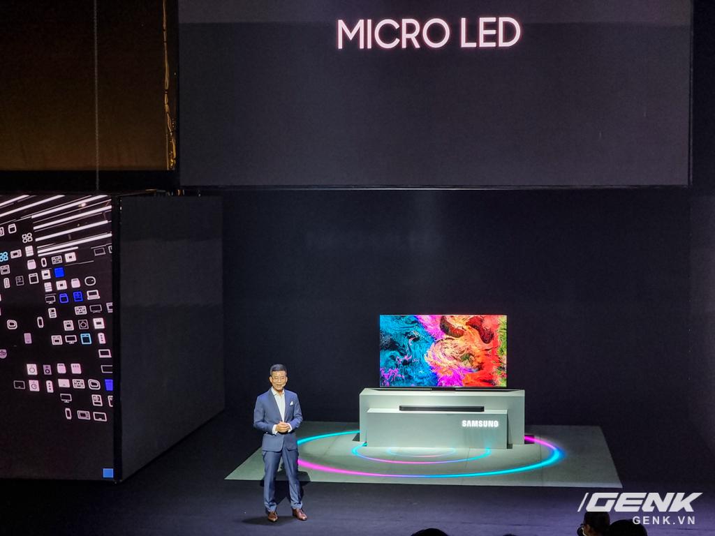 Dạo quanh sự kiện Tuyệt Tác Công Nghệ 2021: Samsung tung hàng loạt hàng khủng gia dụng, từ TV MICRO LED cho đến máy giặt AI - Ảnh 9.