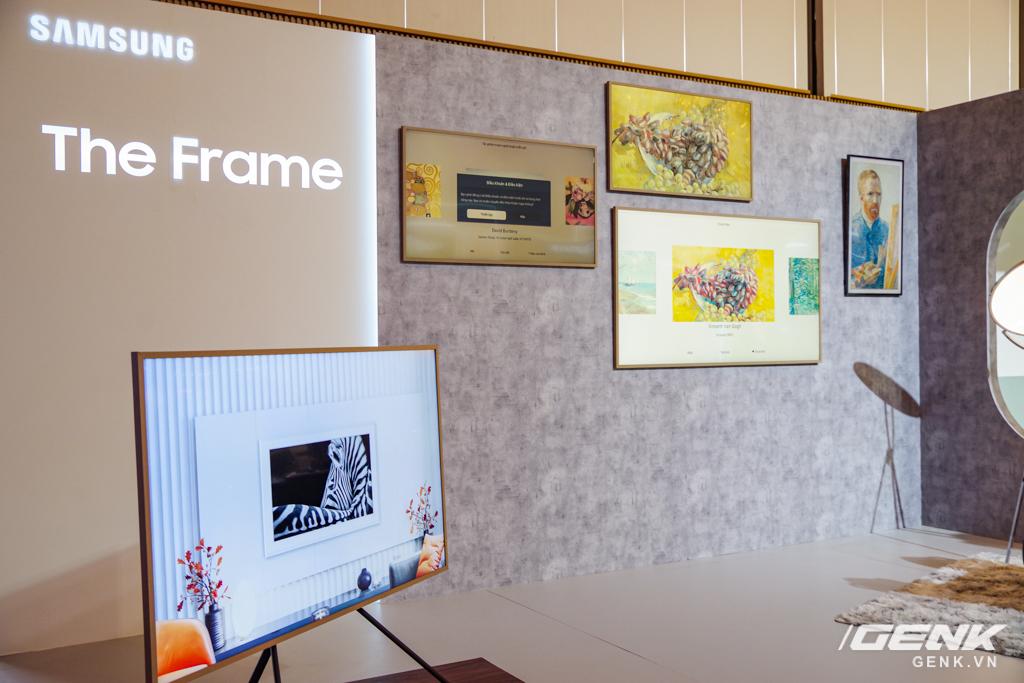 Dạo quanh sự kiện Tuyệt Tác Công Nghệ 2021: Samsung tung hàng loạt hàng khủng gia dụng, từ TV MICRO LED cho đến máy giặt AI - Ảnh 6.