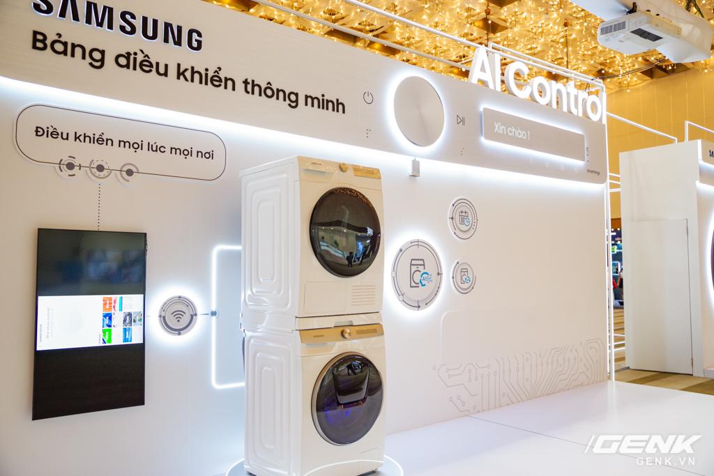 Dạo quanh sự kiện Tuyệt Tác Công Nghệ 2021: Samsung tung hàng loạt hàng khủng gia dụng, từ TV MICRO LED cho đến máy giặt AI - Ảnh 16.