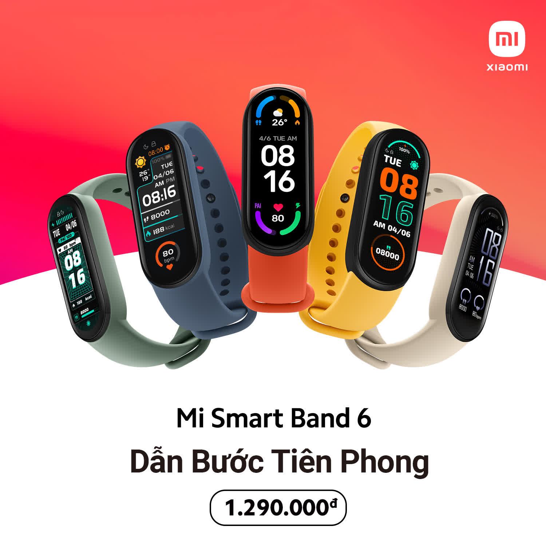Xiaomi ra mắt Mi Band 6 tại VN: Màn hình màu AMOLED tràn viền, đo SpO2, pin 14 ngày, giá 1.29 triệu đồng - Ảnh 8.