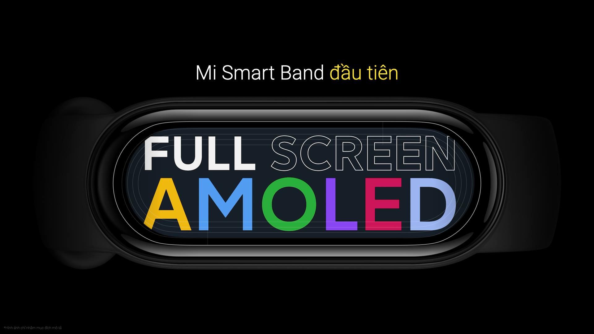 Xiaomi ra mắt Mi Band 6 tại VN: Màn hình màu AMOLED tràn viền, đo SpO2, pin 14 ngày, giá 1.29 triệu đồng - Ảnh 4.