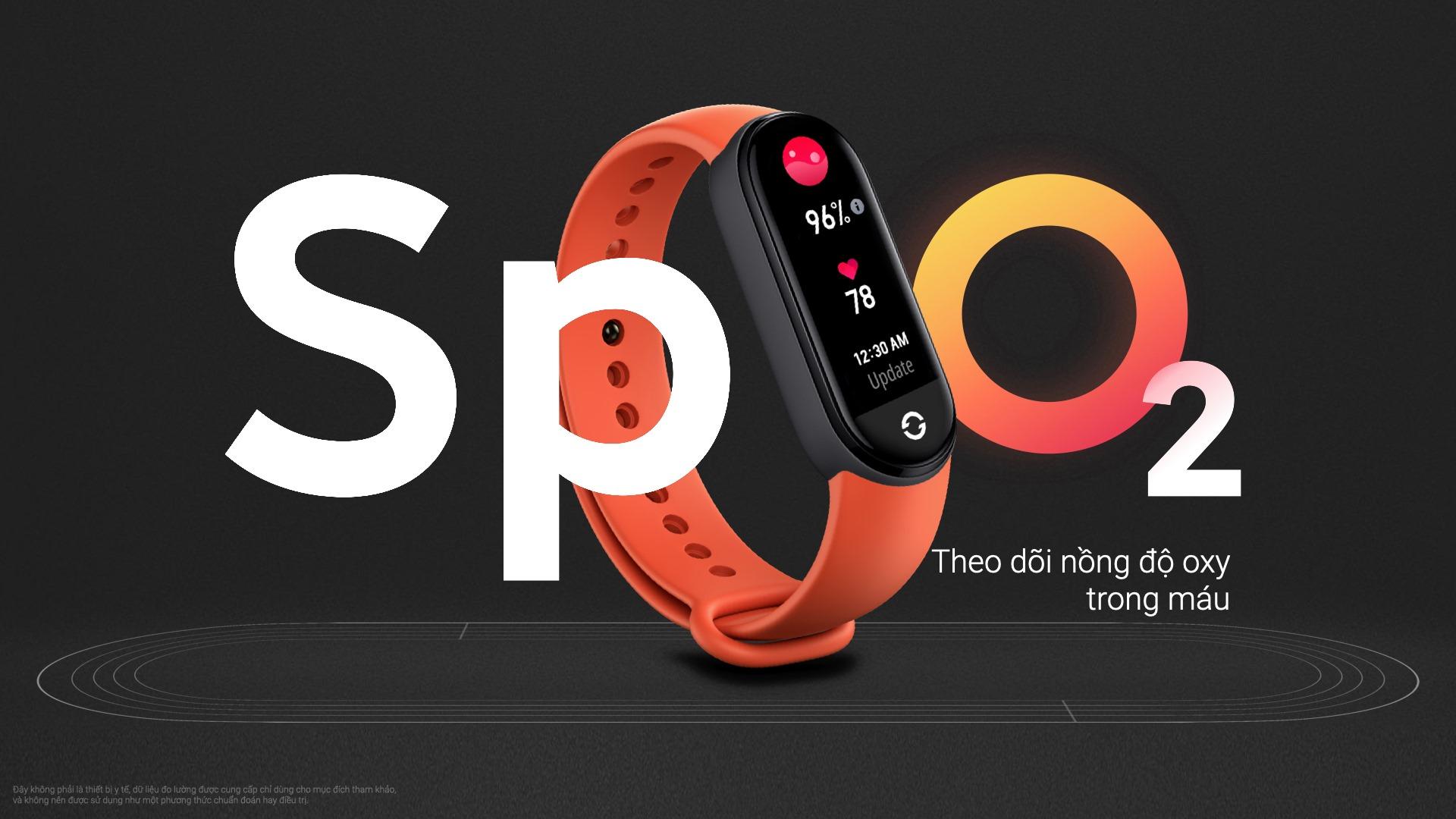 Xiaomi ra mắt Mi Band 6 tại VN: Màn hình màu AMOLED tràn viền, đo SpO2, pin 14 ngày, giá 1.29 triệu đồng - Ảnh 6.