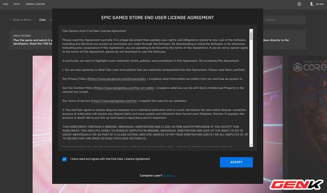 Cách cài đặt Core, vũ trụ game đa chức năng mới của Epic - Ảnh 4.