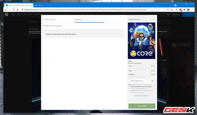 Cách cài đặt Core, vũ trụ game đa chức năng mới của Epic - Ảnh 5.