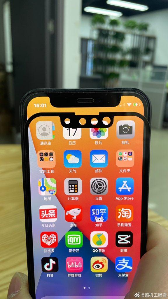 Hình ảnh so sánh rãnh tai thỏ của iPhone 13 và iPhone 12 - Ảnh 2.
