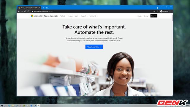 Tự động hóa các tác vụ thường ngày với Microsoft Power Automate - Ảnh 1.