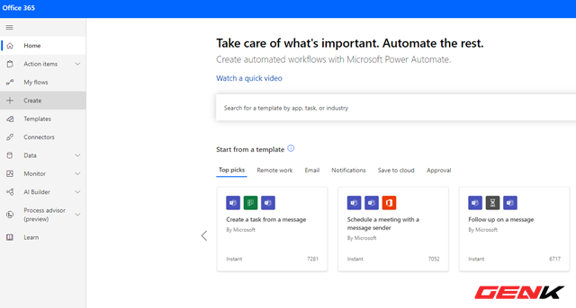 Tự động hóa các tác vụ thường ngày với Microsoft Power Automate - Ảnh 12.