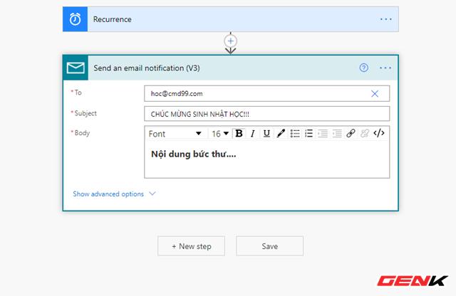 Tự động hóa các tác vụ thường ngày với Microsoft Power Automate - Ảnh 16.
