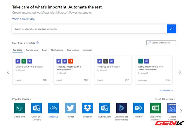 Tự động hóa các tác vụ thường ngày với Microsoft Power Automate - Ảnh 8.