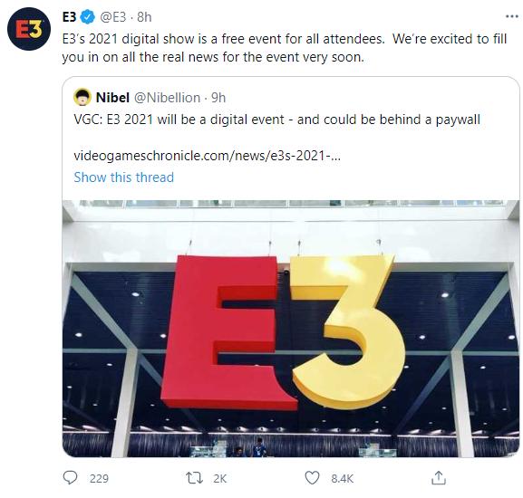 Sự kiện Hội chợ Giải trí Điện tử E3 năm nay sẽ diễn ra online, chiếu miễn phí cho tất cả người xem - Ảnh 1.