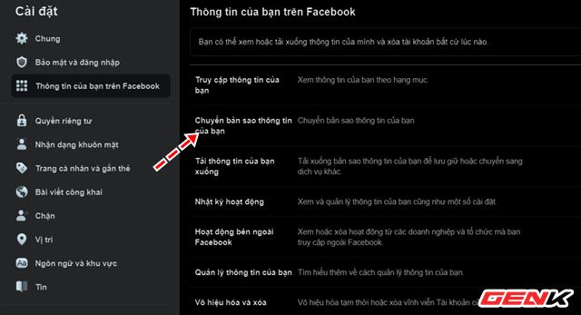 Facebook cung cấp chức năng chuyển dữ liệu bài đăng và ghi chú sang dịch vụ của bên thứ ba - Ảnh 4.