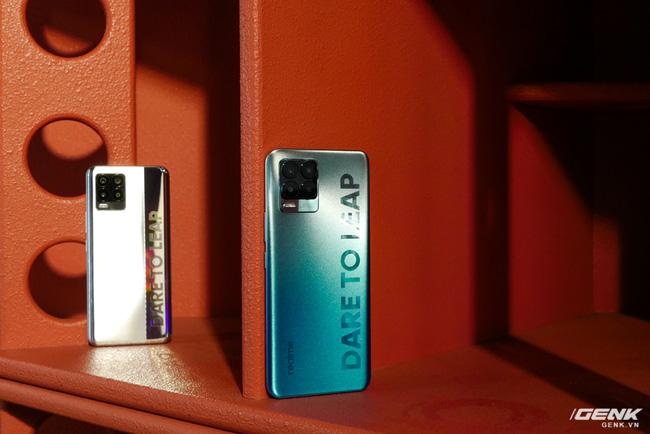 Trên tay realme 8 và 8 Pro: Thiết kế trẻ trung, camera 108MP có chế độ Tilt-Shift, hiệu năng đủ dùng, lên kệ ngày 27/4 - Ảnh 3.