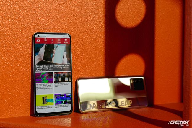 Trên tay realme 8 và 8 Pro: Thiết kế trẻ trung, camera 108MP có chế độ Tilt-Shift, hiệu năng đủ dùng, lên kệ ngày 27/4 - Ảnh 9.