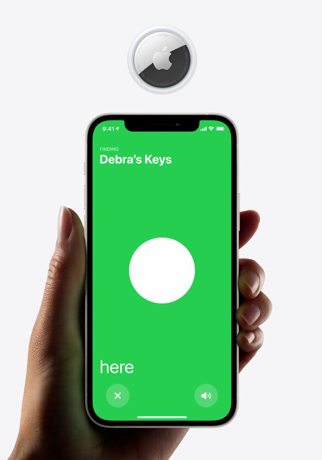 Apple ra mắt AirTag: Phụ kiện giúp định vị vật dụng cá nhân, pin 1 năm, giá 29 USD - Ảnh 4.