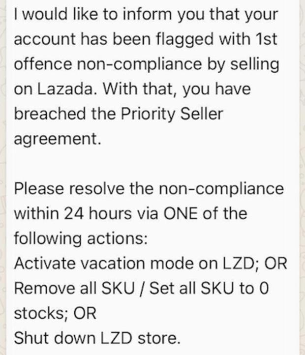 Shopee bị tố chơi xấu: Tặng voucher ép người bán đóng gian hàng trên Lazada, ai không ký vào thỏa thuận độc quyền sẽ bị trừng trị - Ảnh 3.