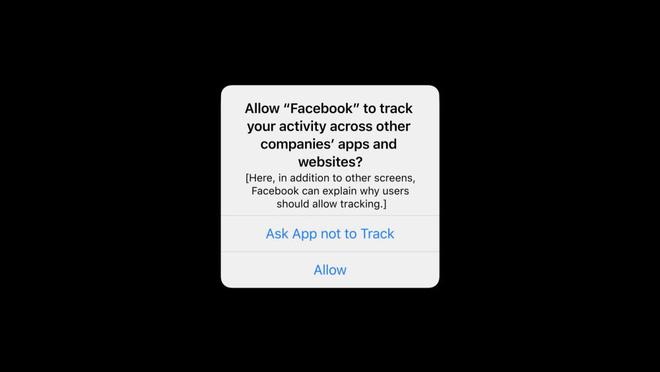 iOS 14.5: Cơn ác mộng của Mark Zuckerberg đã đến, từ Tim Cook - Ảnh 1.