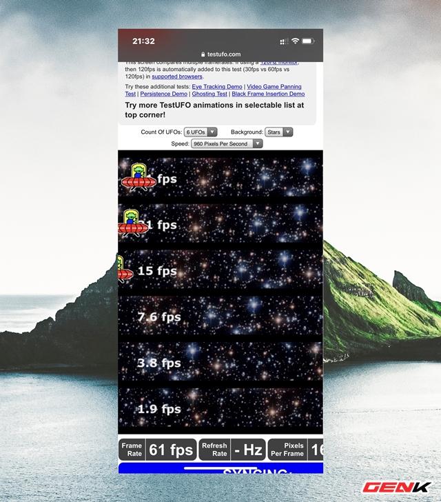 Cách kiểm tra tần số quét màn hình của điện thoại bạn mà không cần dùng ứng dụng - Ảnh 4.