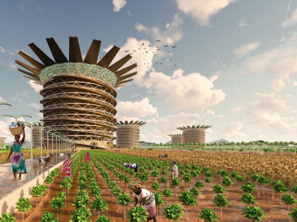 Những ý tưởng thiết kế nhà chọc trời ngông cuồng nhất trong giới kiến trúc - Ảnh 4.