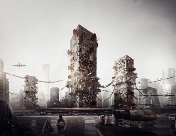 Những ý tưởng thiết kế nhà chọc trời ngông cuồng nhất trong giới kiến trúc - Ảnh 11.