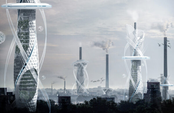 Những ý tưởng thiết kế nhà chọc trời ngông cuồng nhất trong giới kiến trúc - Ảnh 14.