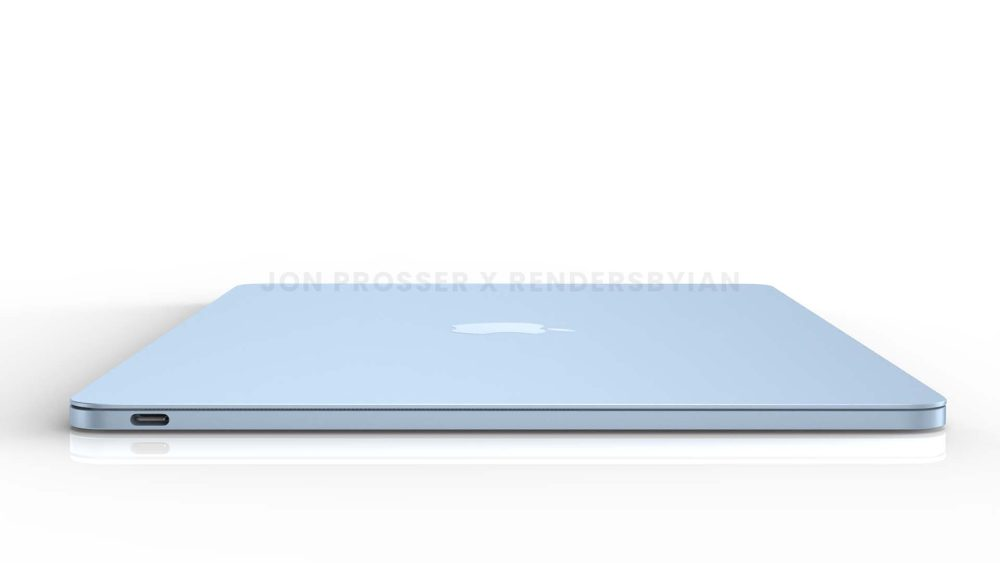 MacBook Air mới lộ diện với thiết kế màu mè giống iMac - Ảnh 1.