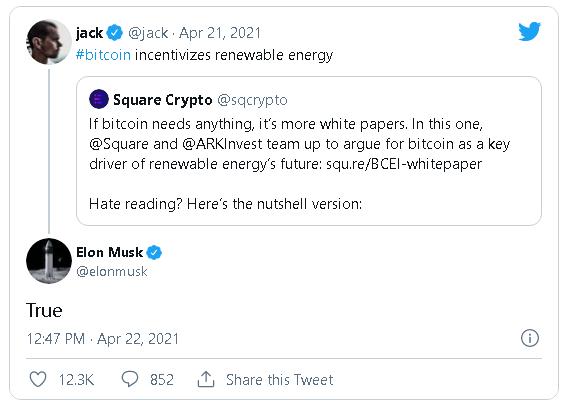 """""""Lươn"""" như Elon Musk: Mới tháng trước còn đồng ý Bitcoin giúp tăng cường sử dụng năng lượng sạch, giờ lại tuyên bố không chấp nhận Bitcoin để bảo vệ môi trường - Ảnh 2."""