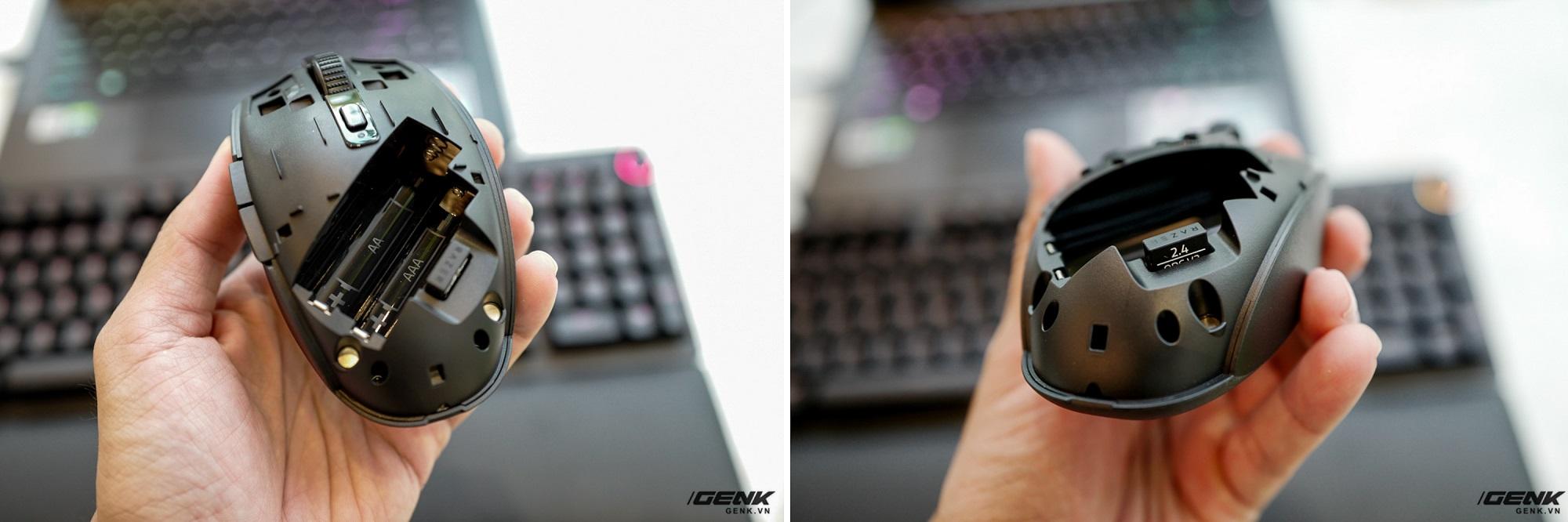 Trên tay chuột không dây Razer Orochi V2: Chuột không dây nhẹ chỉ 60g, pin dùng đến 950 tiếng, giá 1,49 triệu đồng - Ảnh 5.