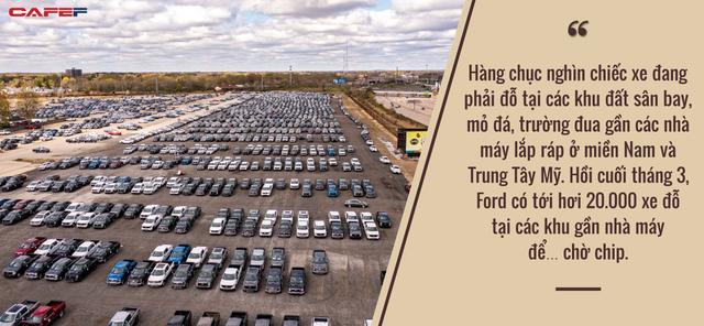 Mỹ hứng chịu hậu quả của cuộc khủng hoảng chip: Nhà máy đóng cửa, ô tô đắp chiếu vì không thể hoàn thiện, người mua giận dữ khi vài tháng không nhận được xe - Ảnh 2.