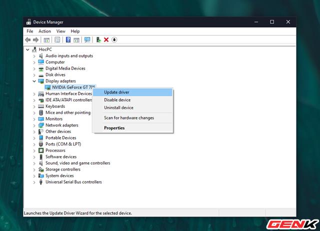 Cách khắc phục lỗi màn hình xanh khi cập nhật NVIDIA Drivers cho Windows 10 - Ảnh 2.