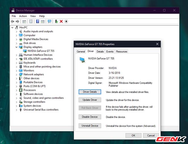 Cách khắc phục lỗi màn hình xanh khi cập nhật NVIDIA Drivers cho Windows 10 - Ảnh 5.