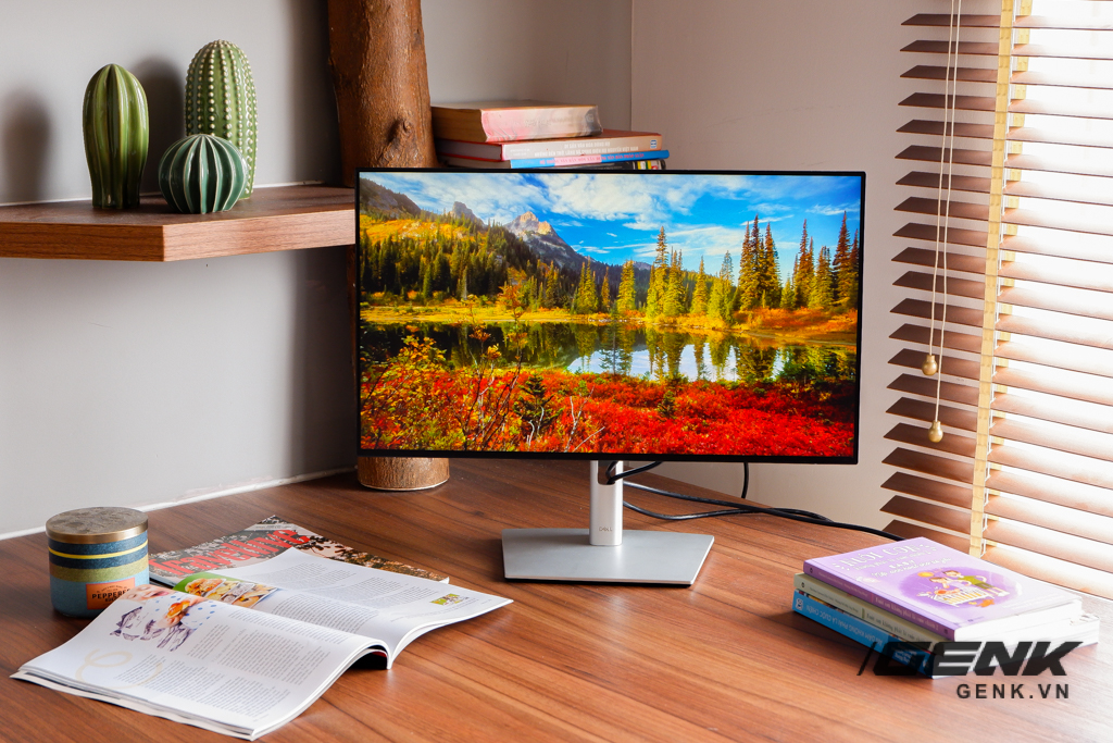 Trải nghiệm nhanh màn hình Dell UltraSharp U2422HE: Tiếp tục mang đến màn hình viền mỏng sướng mắt, tuy Full HD nhưng độ phủ màu đạt 100% sRGB và 85% DCI-P3, giá 7,49 triệu đồng - Ảnh 9.