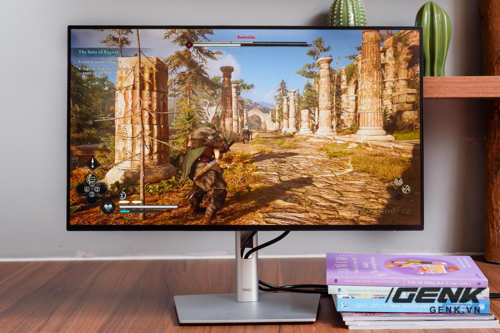 Trải nghiệm nhanh màn hình Dell UltraSharp U2422HE: Tiếp tục mang đến màn hình viền mỏng sướng mắt, tuy Full HD nhưng độ phủ màu đạt 100% sRGB và 85% DCI-P3, giá 7,49 triệu đồng - Ảnh 12.