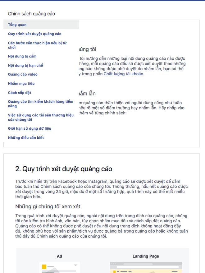 Bị phàn nàn chính sách quảng cáo mới quá 'khắt khe', Facebook phản hồi: Đối tác hãy đọc thật kỹ các quy định! - Ảnh 3.
