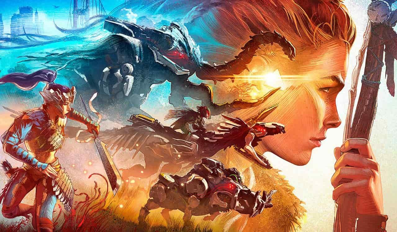 Sony công bố đoạn gameplay dài 15 phút của Horizon Forbidden West: Aloy một lần nữa phiêu lưu trong thế giới khủng long máy kỳ ảo - Ảnh 2.