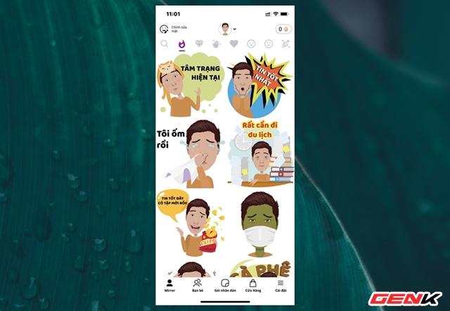 Cách biến gương mặt của chính bạn thành sticker hài hước trên smartphone - Ảnh 10.
