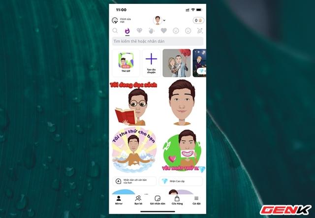Cách biến gương mặt của chính bạn thành sticker hài hước trên smartphone - Ảnh 9.