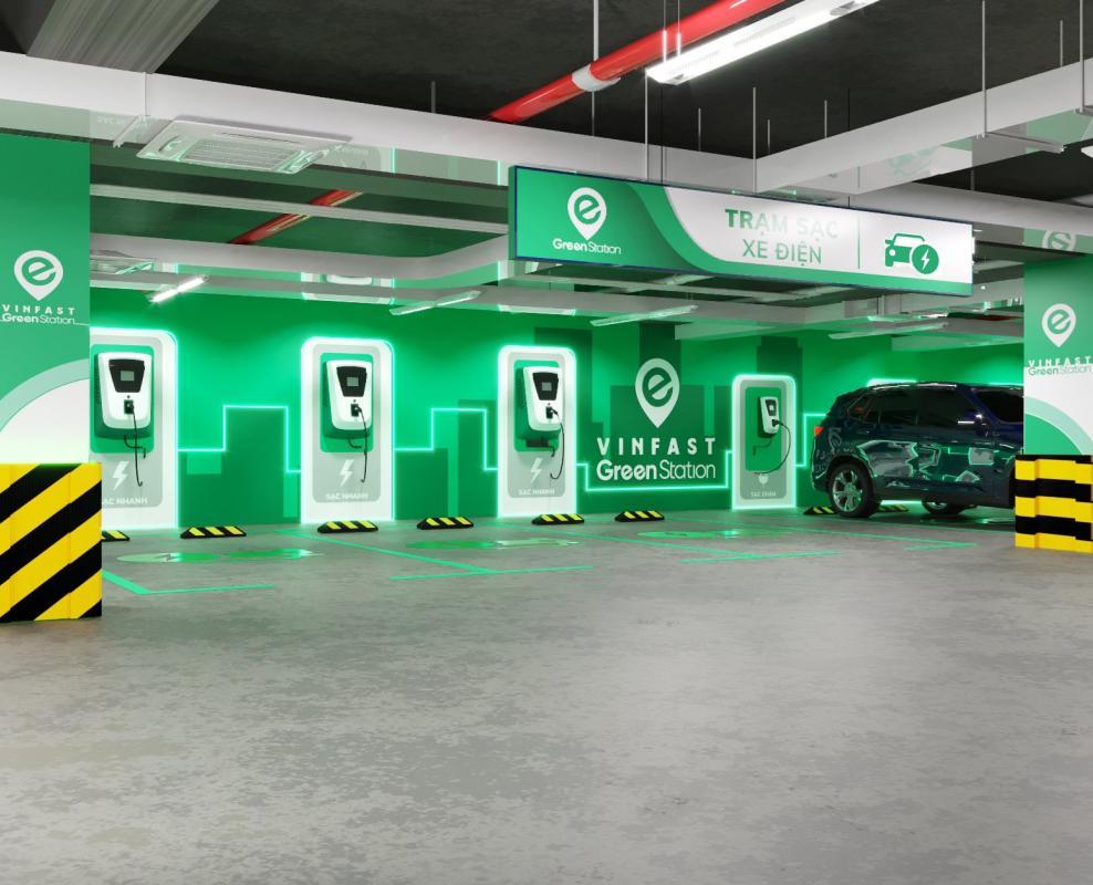 Trạm sạc VinFast sẽ chỉ phục vụ ô tô điện VinFast, từ chối các dòng xe khác - Ảnh 2.