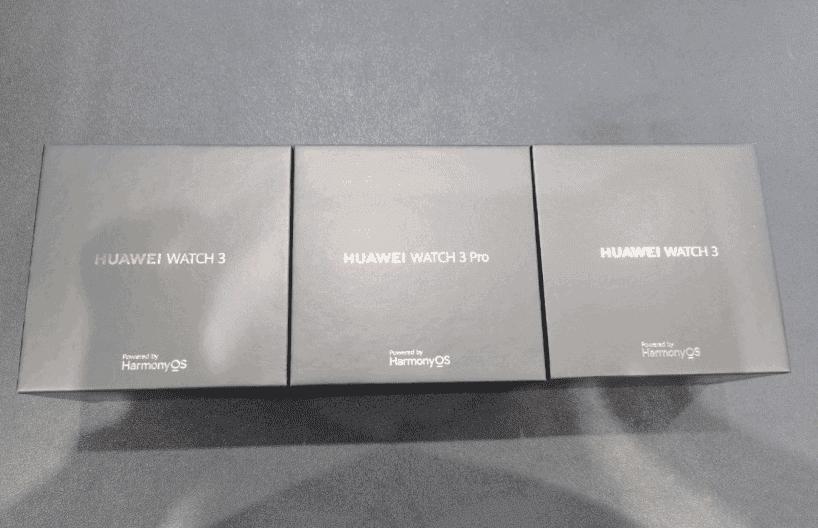 Lộ hình ảnh thực tế đầu tiên của Huawei Watch 3 chạy hệ điều hành HarmonyOS - Ảnh 1.
