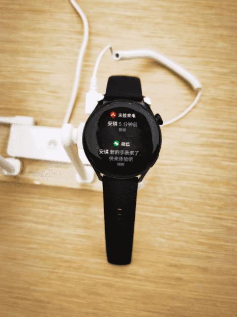 Lộ hình ảnh thực tế đầu tiên của Huawei Watch 3 chạy hệ điều hành HarmonyOS - Ảnh 4.