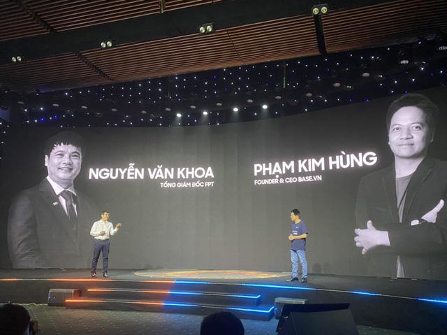 FPT hợp tác startup Base, quyết tâm thống lĩnh thị trường chuyển đổi số Việt Nam, dắt tay nhau cùng chinh phục thế giới - Ảnh 3.
