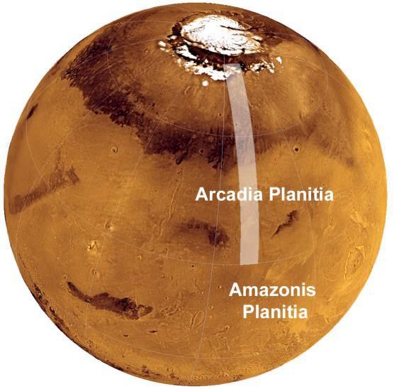 Phát hiện ra một sông băng tiềm năng nằm gần bề mặt Sao Hỏa, phù hợp làm nơi xây căn cứ cho các nhà du hành sau này - Ảnh 2.