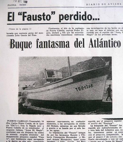 Bí ẩn con tàu Faust năm 1968 - Phần 3: người thủy thủ nằm lại dưới boong và cuốn hải trình không nguyên vẹn - Ảnh 3.