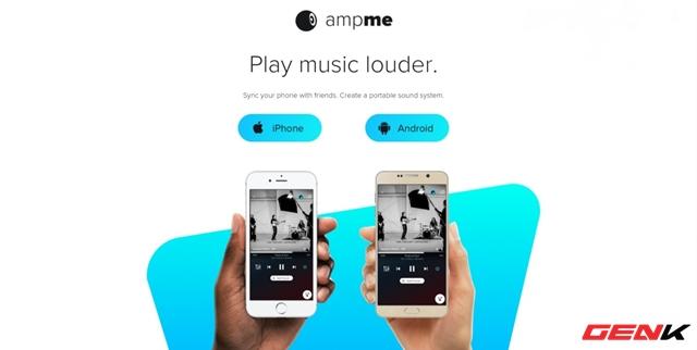 Biến smartphone thành hệ thống âm thanh đa kênh cực đỉnh với AmpMe - Ảnh 1.