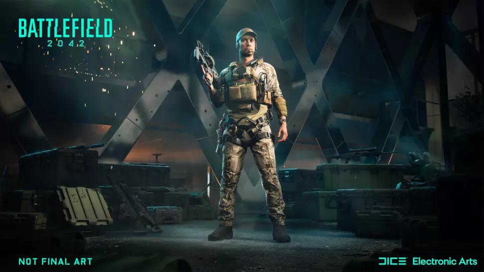 Battlefield 2042 công bố trailer đầu tiên: đấu trường hỗ trợ 128 tay súng, lớp nhân vật mới linh hoạt, có chế độ công thành độc đáo - Ảnh 5.
