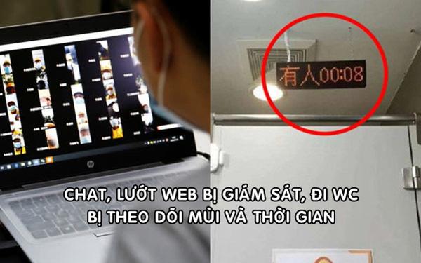 Nhân viên công nghệ Trung Quốc kiệt sức vì chat, duyệt web đều bị giám sát, đi WC lại bị theo dõi mùi và thời gian - Ảnh 1.