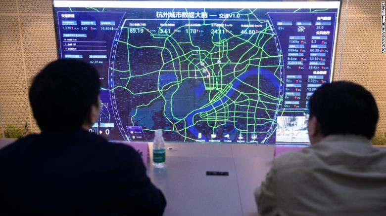 The AI brain is deployed across Chinese cities, capable of both tracing Covid-19 and fighting corruption - Photo 2.